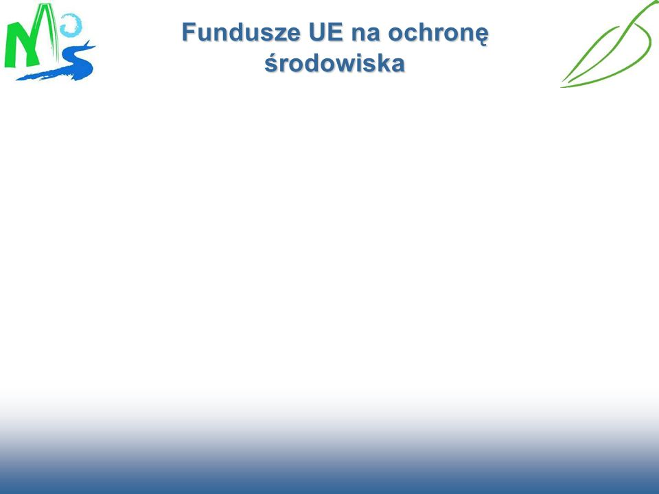 Oś priorytetowa I Gospodarka wodno-ściekowa Finansowanie 2 725,0 mln euro z FS Cel priorytetu: Rozbudowa infrastruktury wodno -ściekowej warunkującej rozw ó j gospodarczy Działanie w ramach priorytetu: Gospodarka wodno – ściekowa w aglomeracjach powyżej 15 tys.