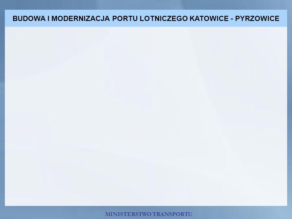 BUDOWA I MODERNIZACJA PORTU LOTNICZEGO KATOWICE - PYRZOWICE MINISTERSTWO TRANSPORTU
