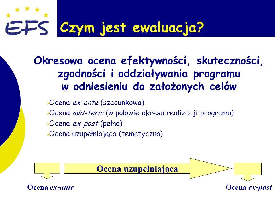 3 Ewaluacja – podstawowe zasady 1.
