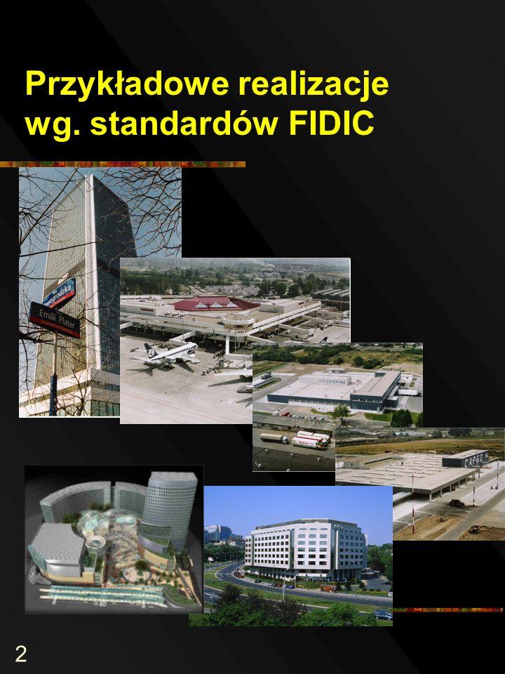 2 Przykładowe realizacje wg. standardów FIDIC
