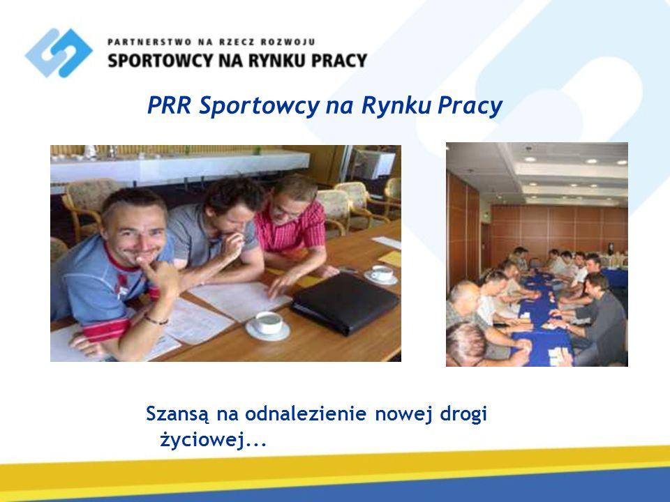 PRR Sportowcy na Rynku Pracy Szansą na odnalezienie nowej drogi życiowej...
