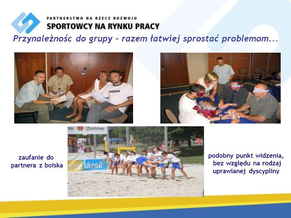 Przynależnośc do grupy - razem łatwiej sprostać problemom...