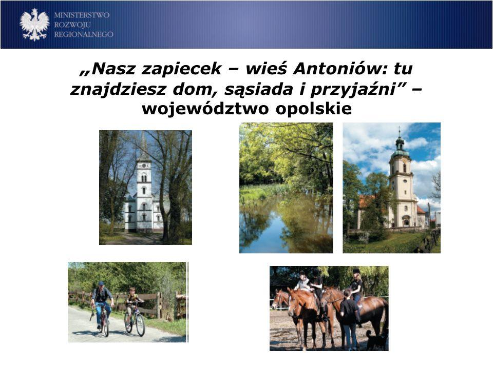 Nasz zapiecek – wieś Antoniów: tu znajdziesz dom, sąsiada i przyjaźni – województwo opolskie