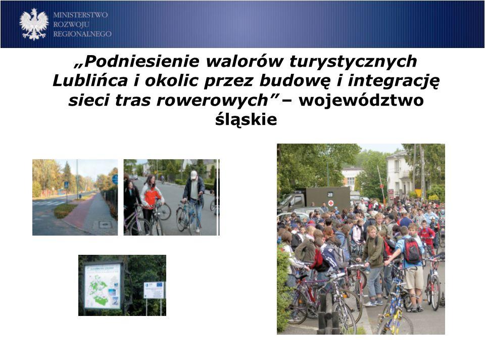 Modernizacja części uzdrowiskowej wsi Złockie – województwo małopolskie