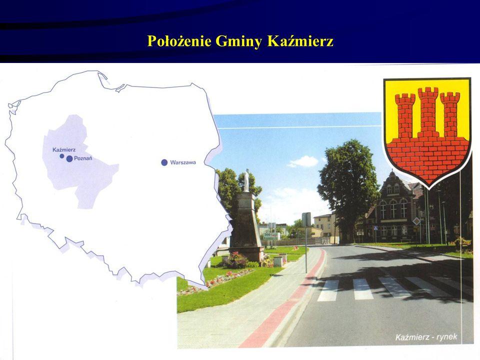Położenie Gminy Kaźmierz