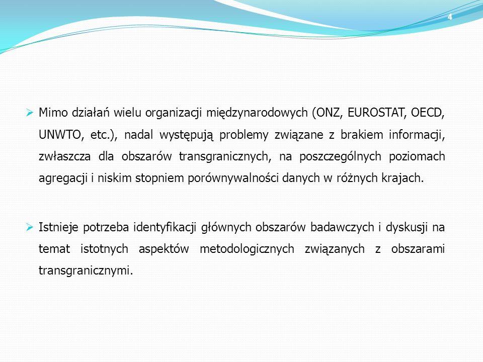 Polska statystyka publiczna wychodząc naprzeciw tym potrzebom rozpoczęła prace nad stworzeniem spójnego systemu badawczego, zarówno dla granic zewnętrznych jak i wewnętrznych.
