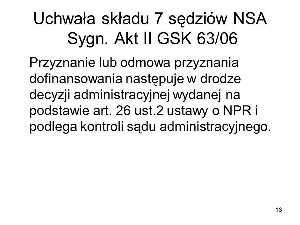 19 Decyzja administracyjna - składniki Art.107. § 1 i 2 kpa.
