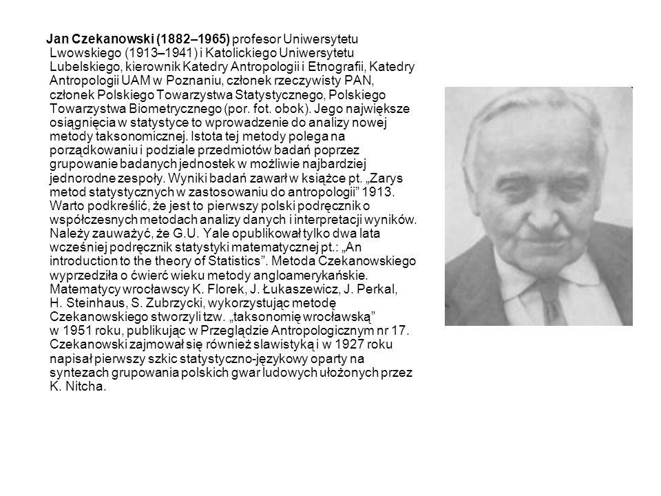 Jan Wiśniewski (1904–1939), wykładowca statystyki w Szkole Głównej Handlowej w Warszawie, pracował w Instytucie Badań Koniunktur Gospodarczych i cen w Katedrze Statystyki.
