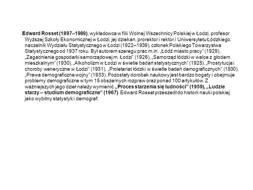 OSIĄGNIĘCIA STATYSTYKÓW POLSKICH Jan Długosz (1415–1480)Roczniki, Kroniki sławnego Królestwa Polskiego (1455-1480)Historia Polinica (1455-1480) (wybitna synteza histografii polskiej)Liber beneficiorum dioecesisCracoviensis (statystyczny opis beneficjów Kościoła w Małopolsce (1440- 1478) – pierwsze prace statystyczne ziem polskich obejmujące cztery tomy (księgi) Feliks Łoyko (1717-1779)69 tomów różnych nie opublikowanych rękopisów z których korzystał m.in.