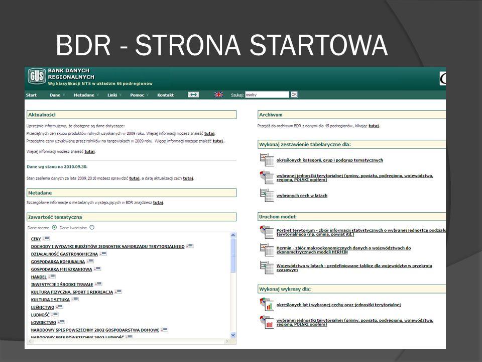 BDR - STRONA STARTOWA