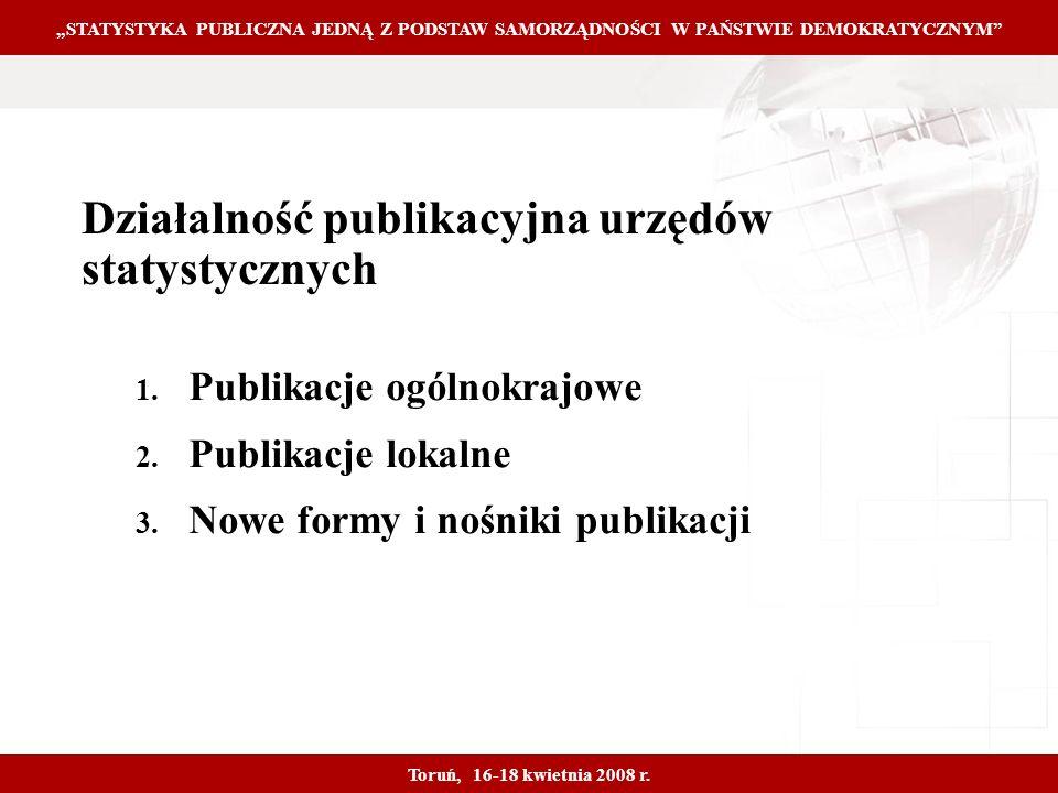 Proprietary and Confidential 4 Działalność publikacyjna urzędów statystycznych 1.