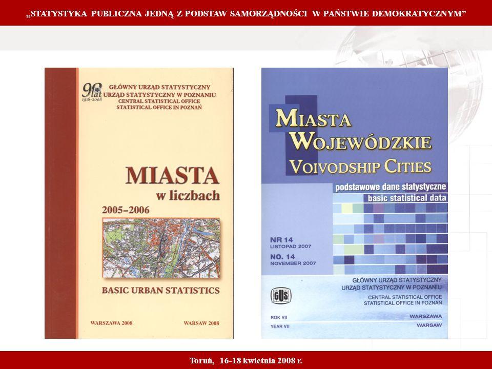 Proprietary and Confidential 5 STATYSTYKA PUBLICZNA JEDNĄ Z PODSTAW SAMORZĄDNOŚCI W PAŃSTWIE DEMOKRATYCZNYM Toruń, 16-18 kwietnia 2008 r.