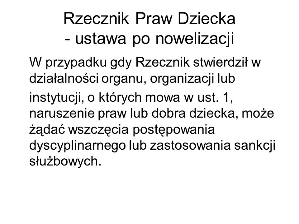 Kontrola prokuratorska Art.