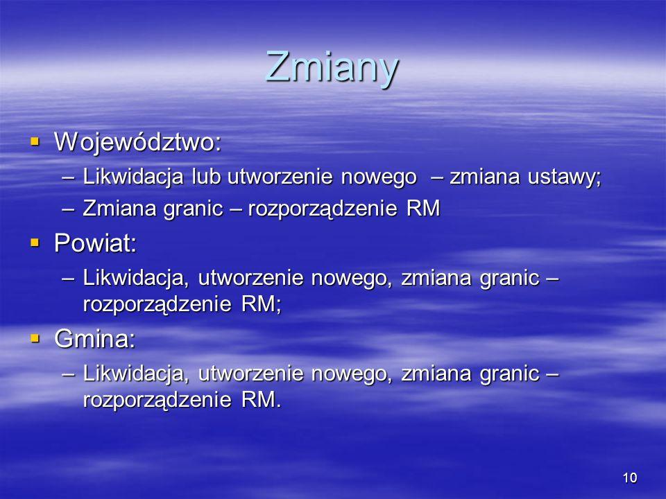11 Miasta na prawach powiatów Miasta powyżej 100 tys.