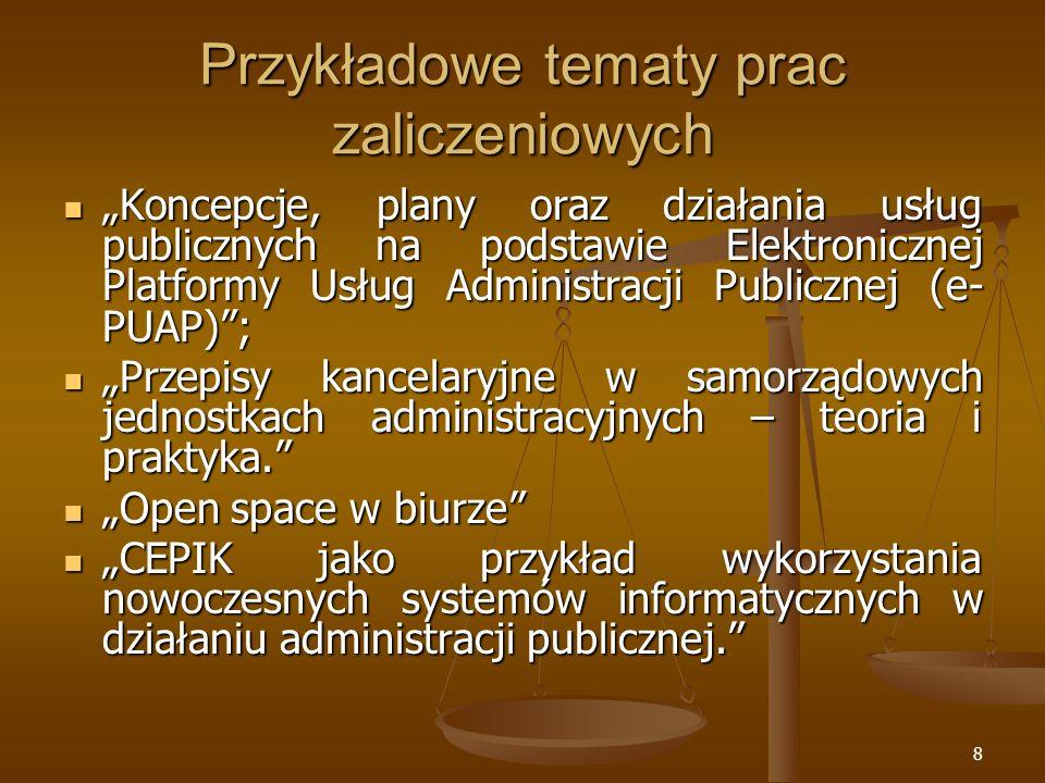 29 Alternatywne definicje cd.