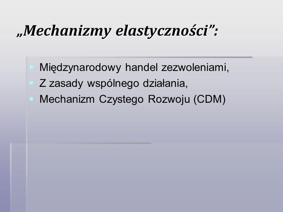 Mechanizmy elastyczności: Międzynarodowy handel zezwoleniami, Z zasady wspólnego działania, Mechanizm Czystego Rozwoju (CDM)