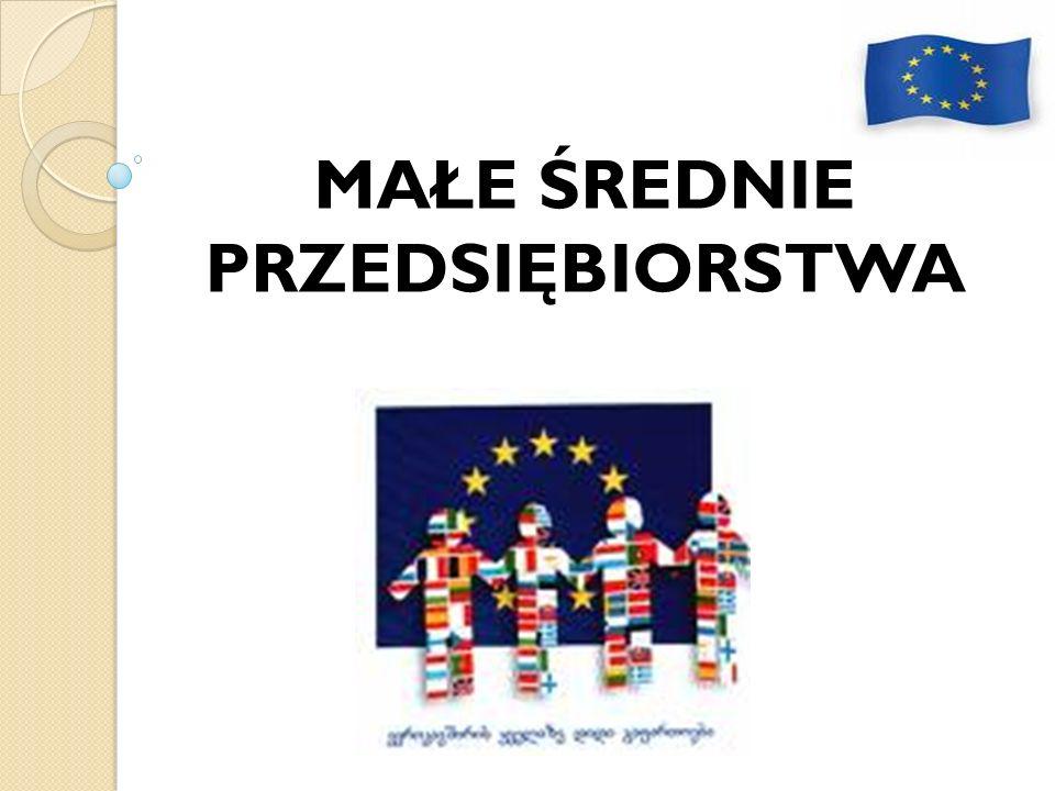 Definicja MSP obowiązuje na mocy Rozporządzenia Komisji Europejskiej z dn.