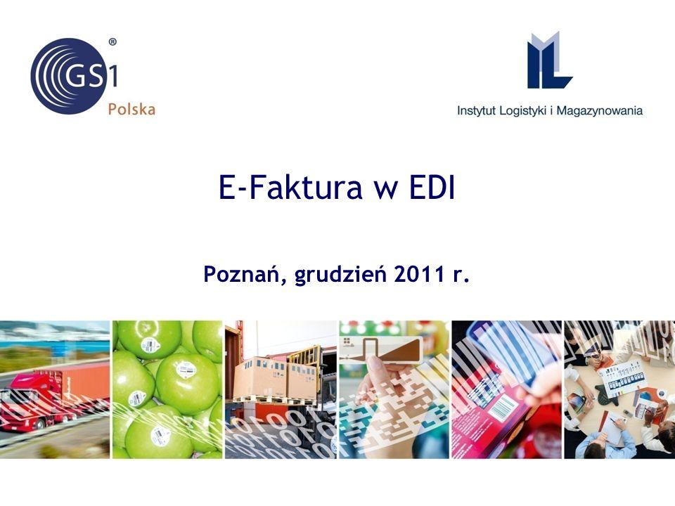 E-Faktura w EDI Poznań, grudzień 2011 r.