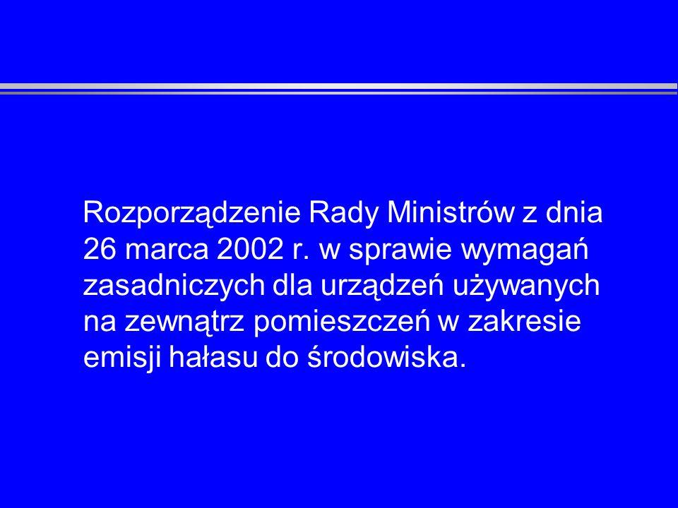 Rozporządzenie MGPiPS z dnia 2 lipca 2003 r.