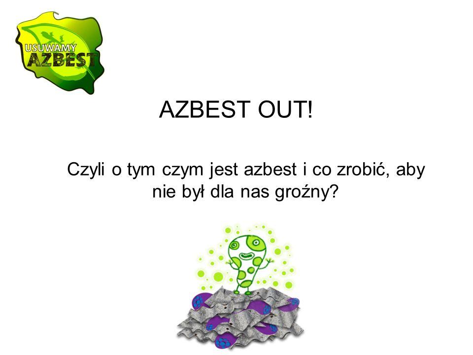 AZBEST OUT! Czyli o tym czym jest azbest i co zrobić, aby nie był dla nas groźny?