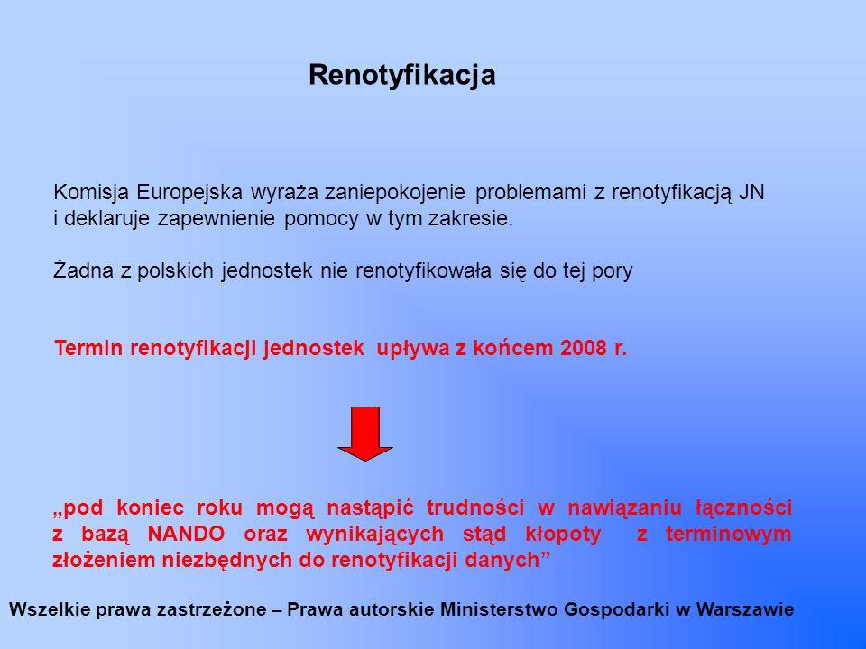 Aktualizacja Dyrektyw Nowego Podejścia W grudniu 2008 r.