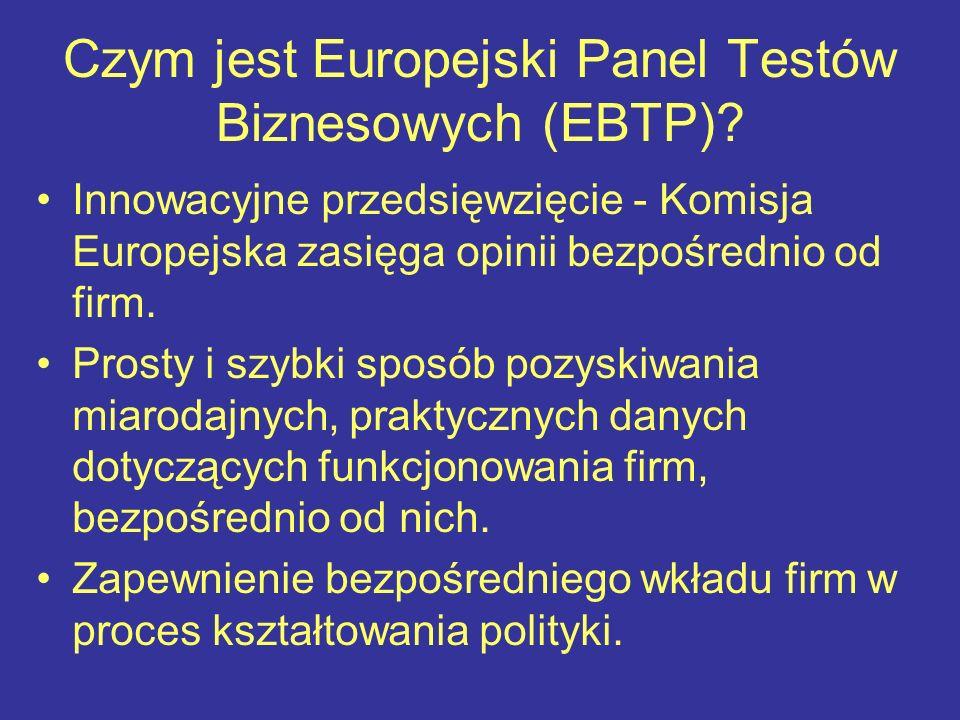 Czym jest Europejski Panel Testów Biznesowych (EBTP).