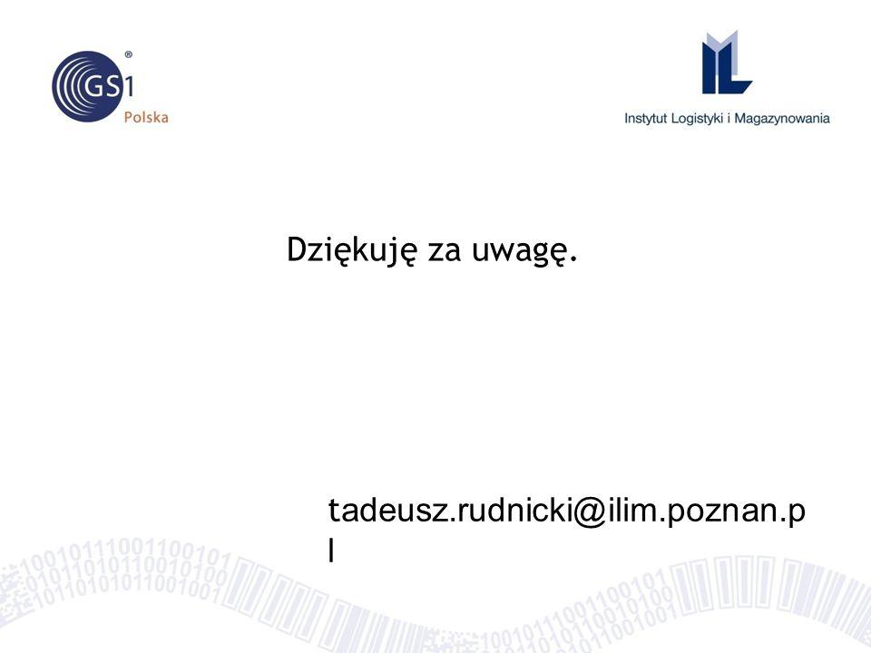 t adeusz.rudnicki@ilim.poznan.p l Dziękuję za uwagę.