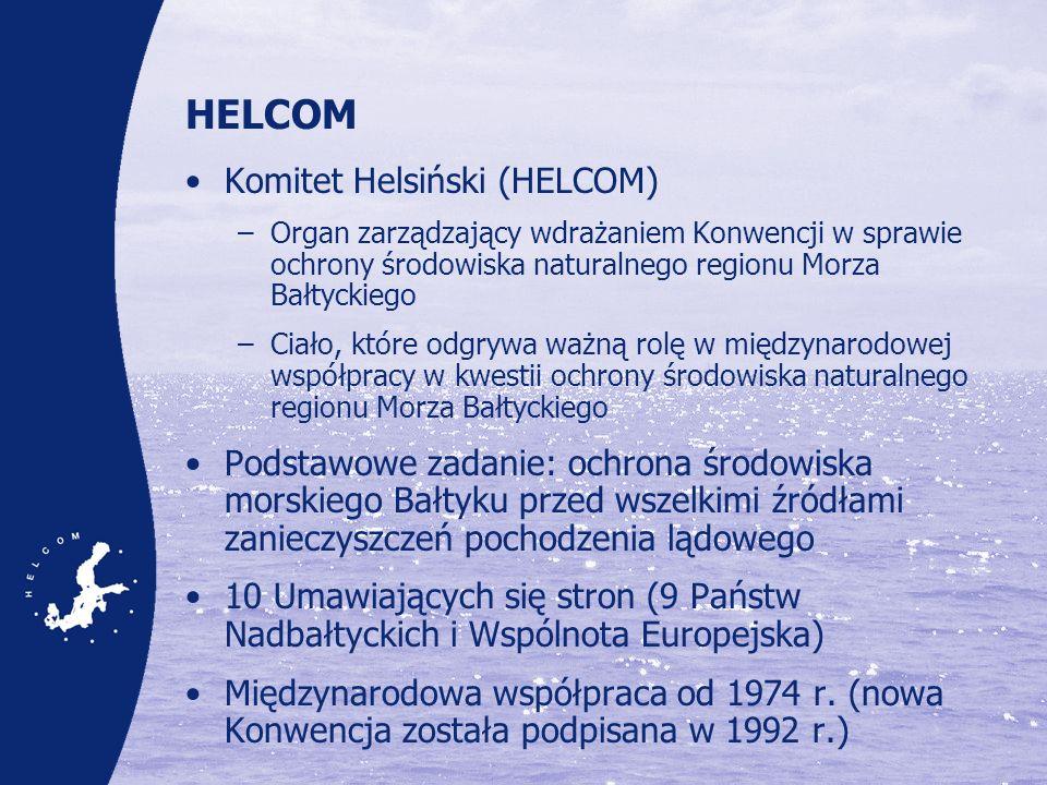 Od wizji do Planu działań na rzecz Morza Bałtyckiego Wyjątkowe szanse i przykład dla innych regionalnych programów ochrony mórz Wykorzystanie ugruntowanej współpracy regionalnej i szeroki udział zainteresowanych stron (na szczeblu rządów, przedstawicieli przemysłu, organizacji pozarządowych itp.) Oparcie w rzetelnej naukowej wiedzy o środowisku Skuteczne powiązanie z działaniami podejmowanymi na szczeblu krajowym i międzynarodowym : –Plan uznawany przez EWG jako pilotażowy przykład regionalnej realizacji Europejskiej Strategii Morskiej, –Wkład do Planów Zarządzania Dorzeczem (River Basin Management Plans) Jednolite ustawodawstwo w zakresie ochrony środowiska naturalnego na większości obszaru objętego planem działania Wysoka świadomość społeczna