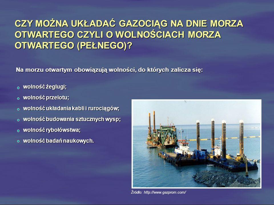 Czy Niemcy i Rosja wydały niezbędne ustawy i inne przepisy prawne do zapewnienia tego, aby właściciele gazociągu na dnie morza otwartego, którzy zerwą lub uszkodzą inny kabel lub rurociąg podczas układania lub naprawy swojego kabla lub rurociągu, poniosły odpowiedzialność prawną.
