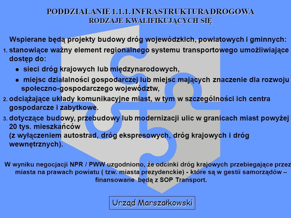 Zintegrowany Program Operacyjny Rozwoju Regionalnego (ZPORR) lata 2004-2006 Instytucje zaangażowane w realizację programu JEDNOSTKA UCZESTNICZĄCA W ZARZĄDZANIU KOMPONENTEM REGIONALNYM ZPORR - Urząd Marszałkowski Przewodniczy Regionalnemu Komitetowi Sterującemu wyborem projektów i prowadzi jego sekretariat, Przekazuje listę rankingową kwalifikujących się projektów, zatwierdzoną przez Zarząd Województwa Instytucji Pośredniczącej Przekazuje Instytucji Pośredniczącej informacje o wyborze beneficjentów końcowych dla Priorytetu II i Działania 3.4.