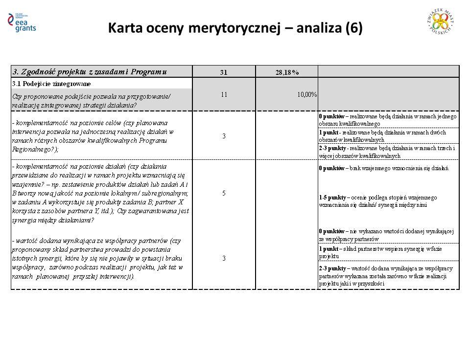 Karta oceny merytorycznej – analiza (6)