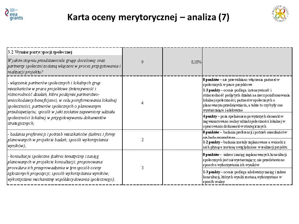 Karta oceny merytorycznej – analiza (7)