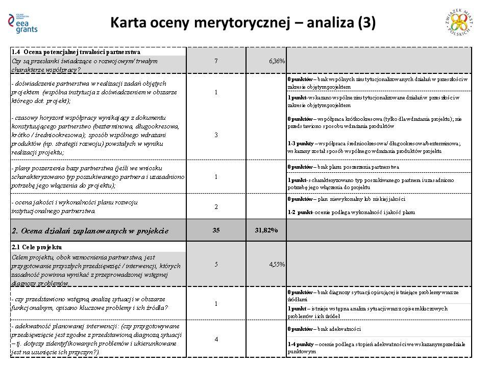 Karta oceny merytorycznej – analiza (3)