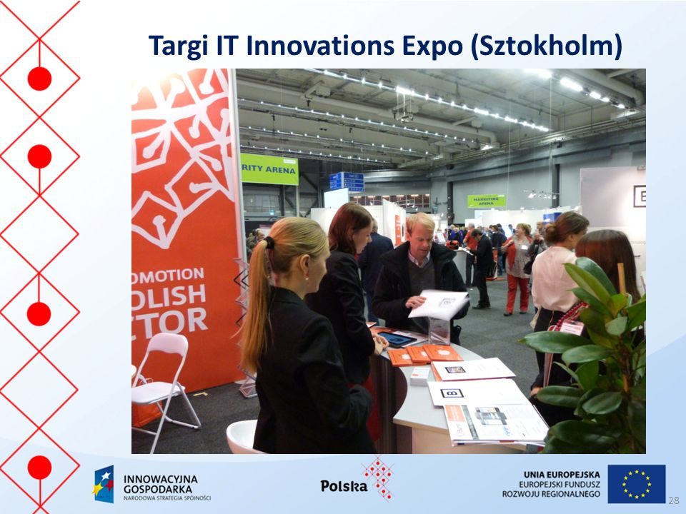 Targi IT Innovations Expo (Sztokholm) 28