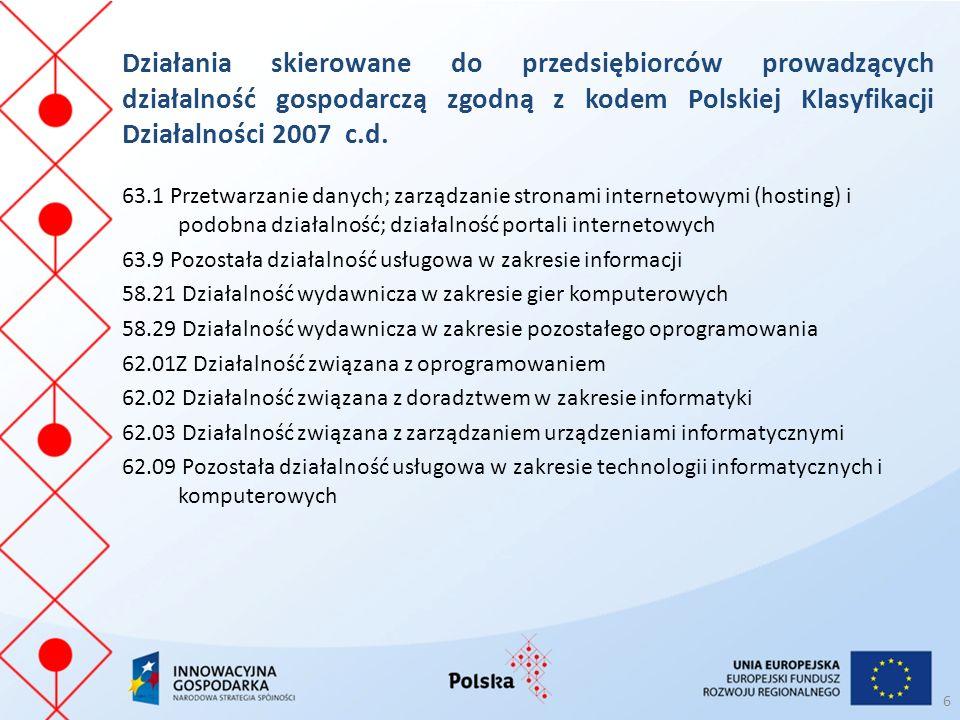 37 W przypadku pytań zachęcamy do kontaktu: Łukasz Nowak Koordynator Projektu Tel.