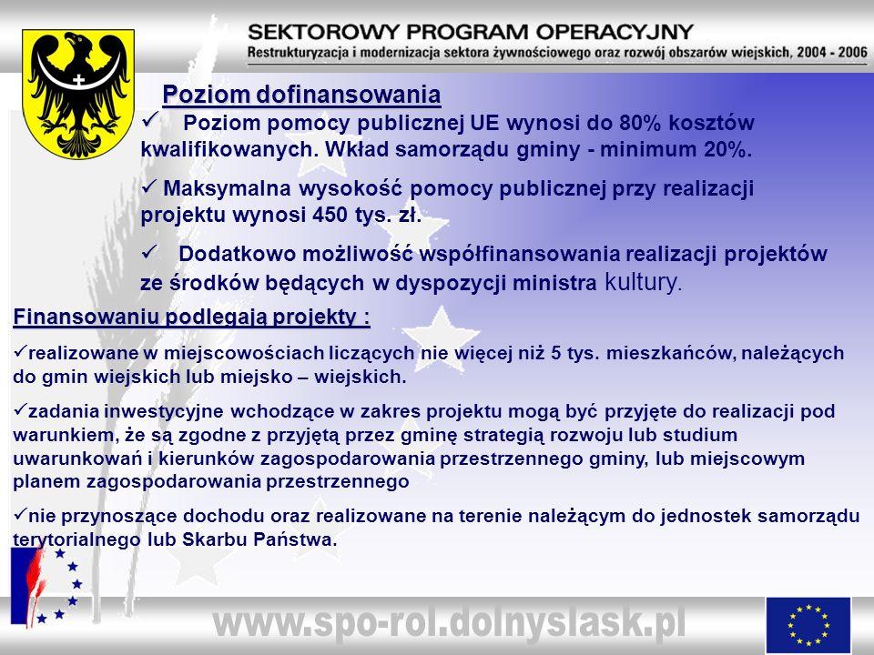 Perspektywa realizacji działania Do I kwartału 2007 składane będą wnioski o płatność