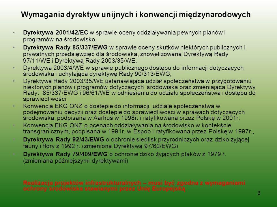 Kluczowe akty prawa krajowego Ustawa z dnia 3 października 2008 r.