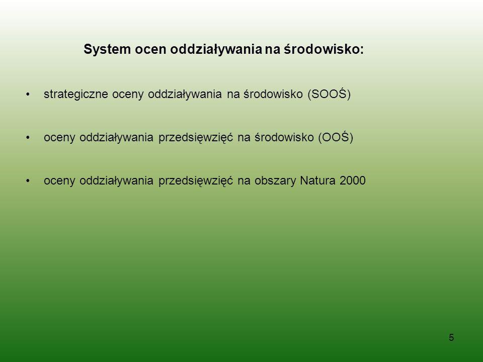 6 Dokumenty niezbędne do załączenia do wniosku o dofinansowanie, świadczące o przeprowadzonej OOŚ postanowienia scopingowe wraz z opiniami postanowienia screeningowe wraz z opiniami postanowienia uzgadniające RDOS i opinie właściwego organu PIS decyzje o środowiskowych uwarunkowaniach Inne decyzje, inne postanowienia wydane w toku oceny dokumentacja świadcząca o postępowaniu dotyczącym transgranicznego oddziaływania planowanego przedsięwzięcia na środowisko – jeżeli zostało przeprowadzone streszczenia raportu/ew.