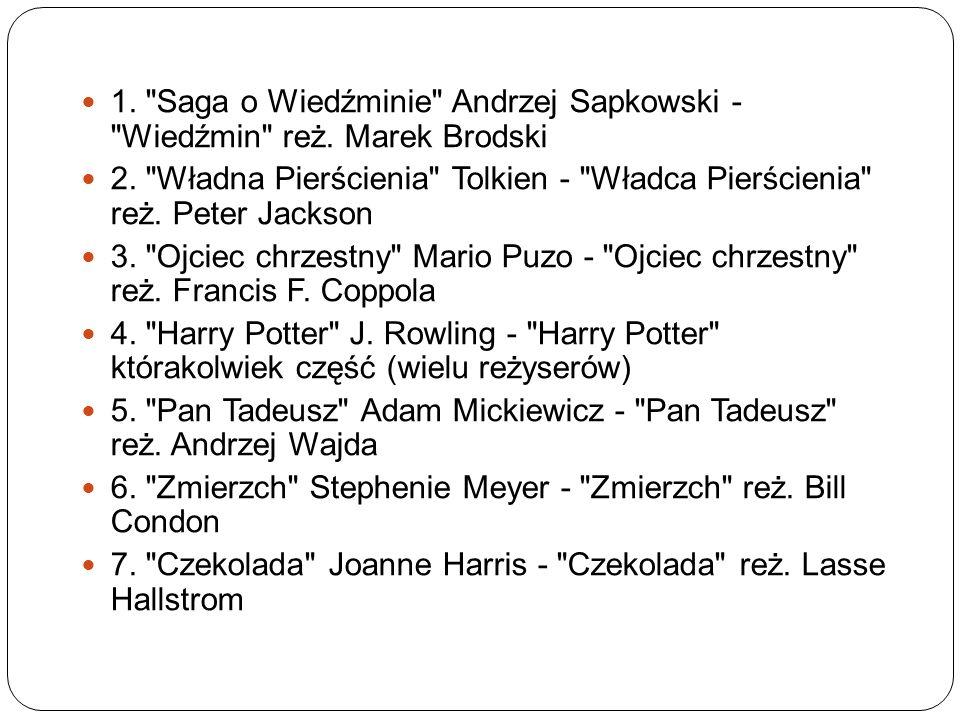 1. Saga o Wiedźminie Andrzej Sapkowski - Wiedźmin reż.
