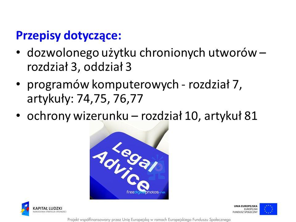 Dozwolony użytek Art.27.