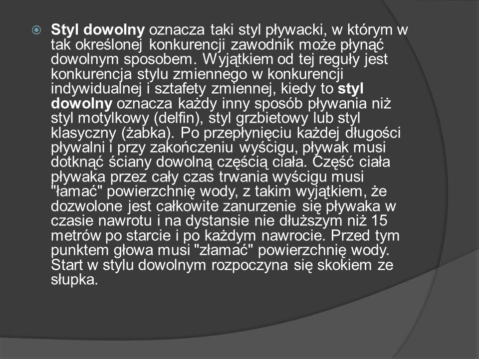 Moim idolem w pływaniu jest Otylia Jędrzejczak.Otylia Jędrzejczak (ur.