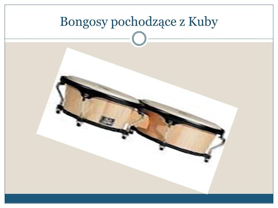 Bongosy pochodzące z Kuby