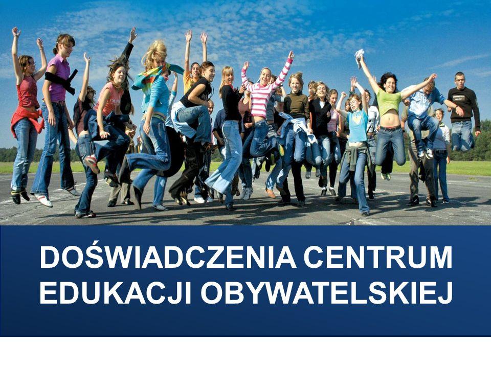 Koncentracja na uczeniu się uczniów ZASADA 1 - TREŚĆ Realizacja i promocja projektów młodzieżowych historycznych, społecznych, kulturalnych, matematyczno-przyrodniczych), prowadzenie serwisu Gimnazjalny Projekt Edukacyjny – Centrum Edukacji Obywatelskiej.
