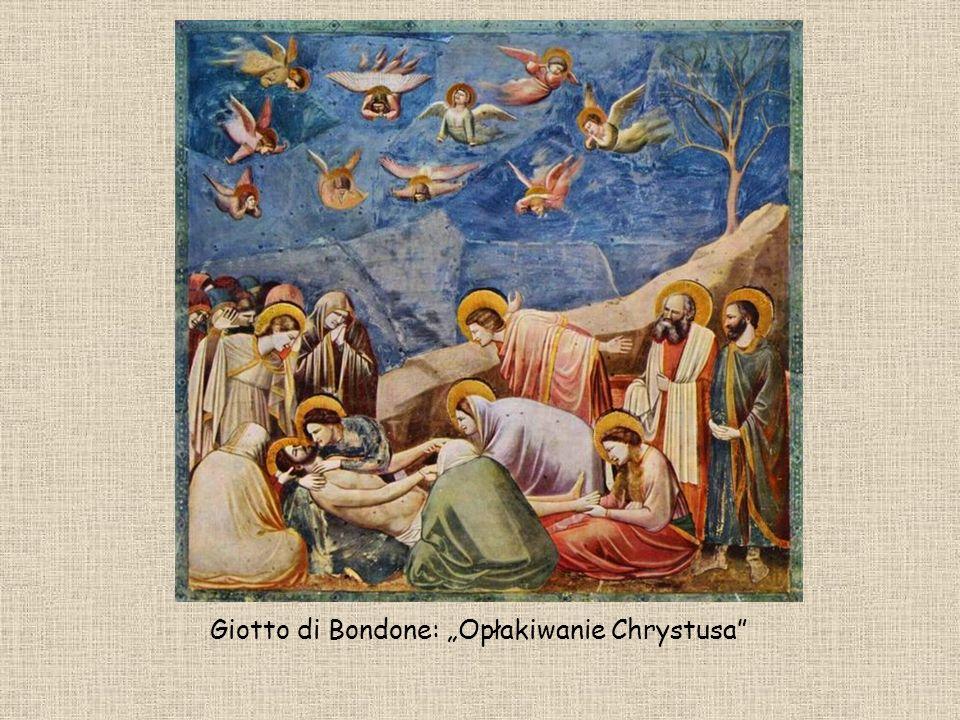 Giotto di Bondone: Opłakiwanie Chrystusa