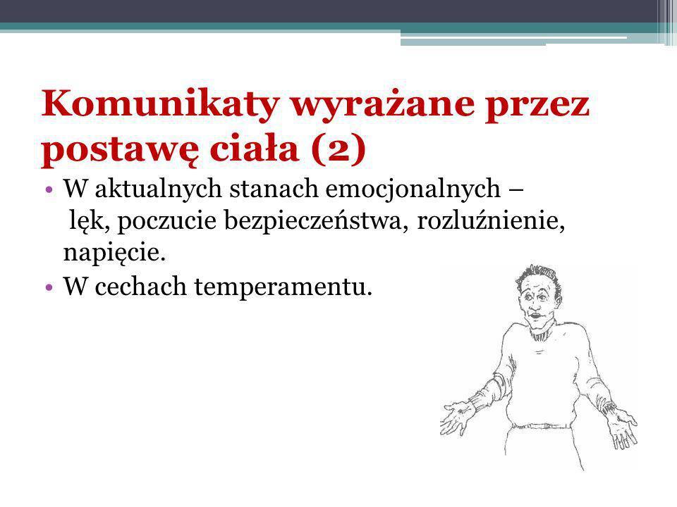 Mowa ciała Mowa ciała- jest to termin z zakresu psychologii społecznej.