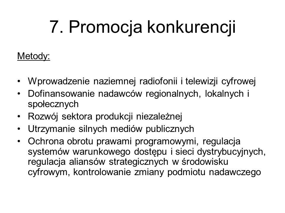 8.Notyfikować abonament do Komisji Europejskiej.