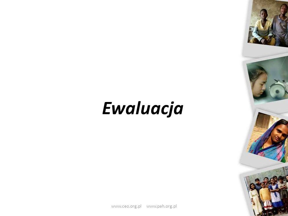 Ewaluacja www.ceo.org.pl www.pah.org.pl