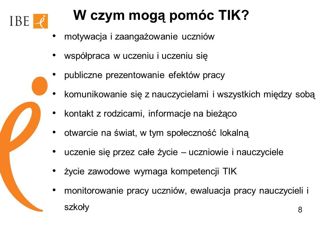 Pytania do uczestników W jakim kierunku powinna iść polska szkoła: ABC czy TIK.
