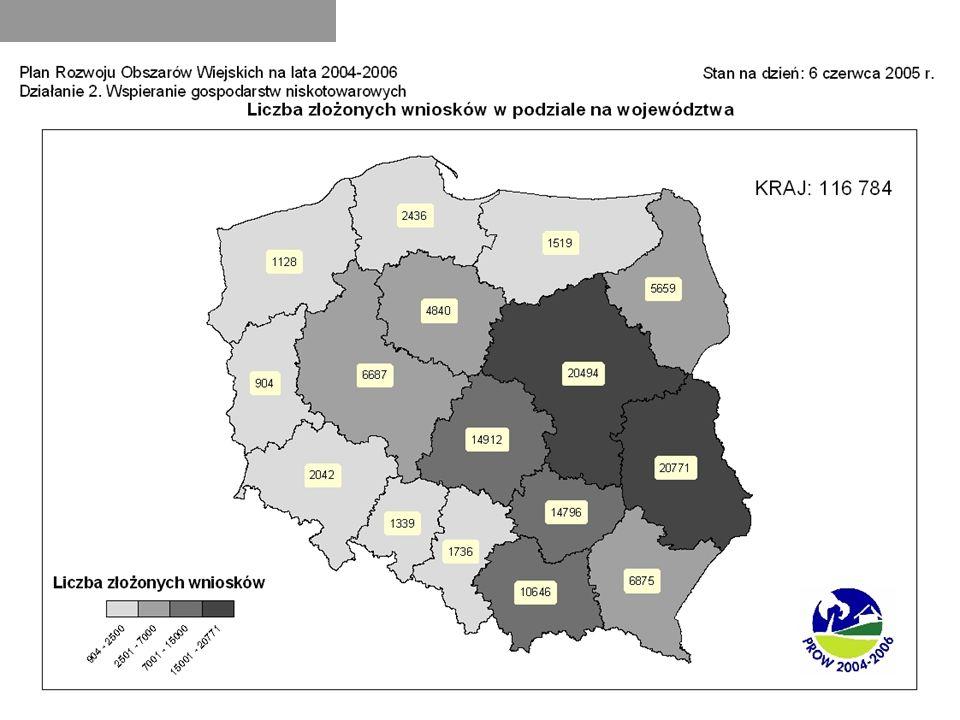 Prace MRiRW dotyczące Programu Rozwoju Obszarów Wiejskich na lata 2007-2013 Opracowanie założeń PROW do III kw.