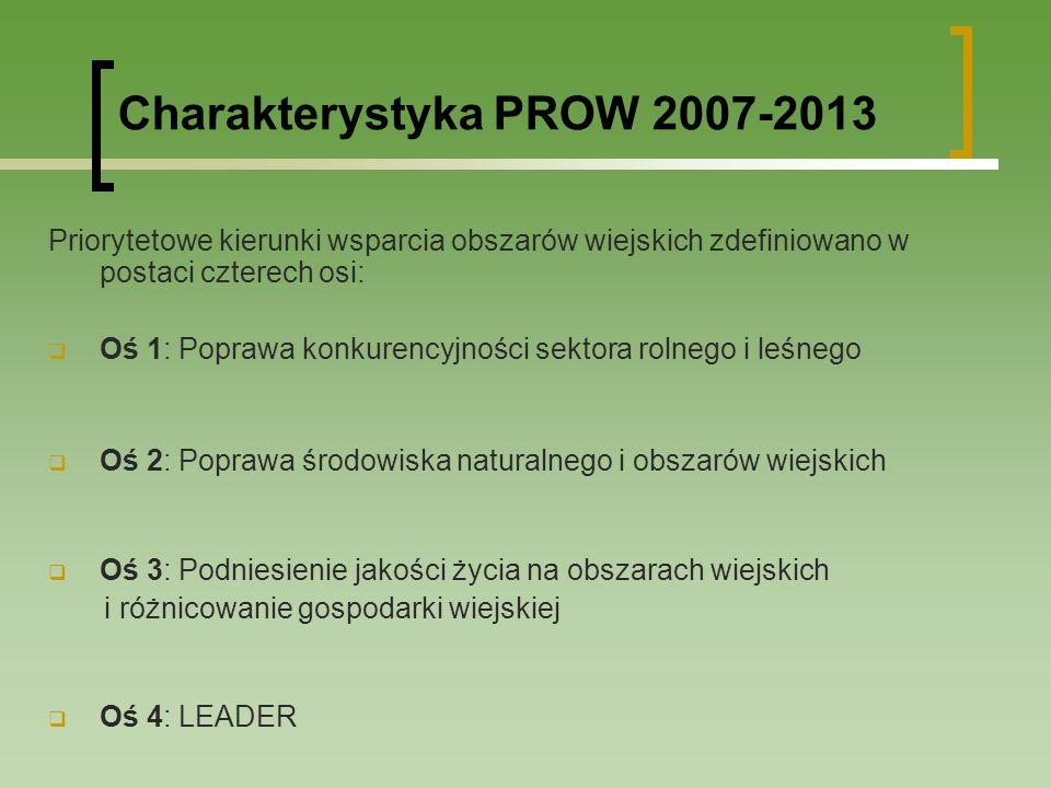 Główne zmiany w PROW 2007-2013 Oś 1 Wprowadzenie dodatkowych kryteriów zawężających zakres pomocy lub ograniczających kategorie potencjalnych beneficjentów (m.in.